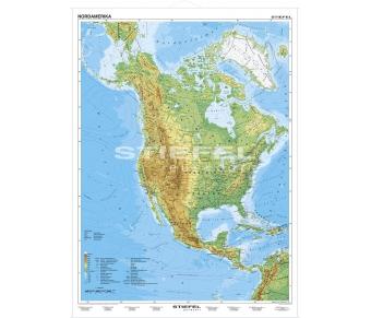 Nordamerika physisch