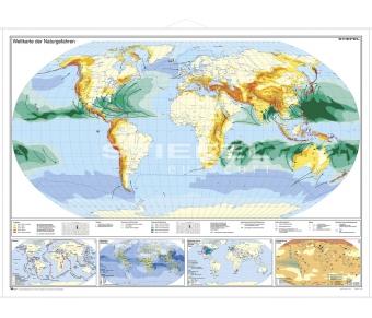 Weltkarte der Naturgefahren
