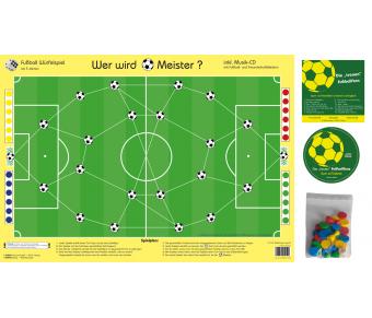 Fußball-Meister-Spiel Set