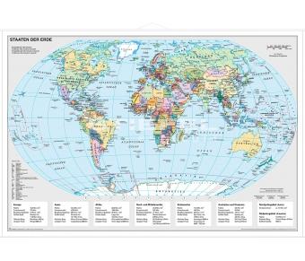 Staaten der Erde politisch