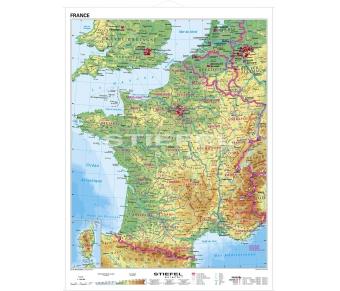 Frankreich physisch (französisch)