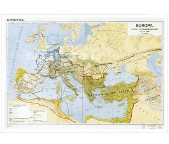 Völkerwanderung in Europa