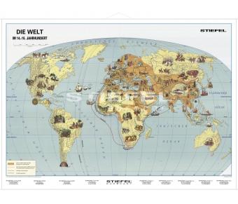 Die Erde im 14. bis 15. Jahrhundert
