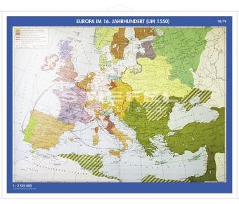 Putzger - Europa im 16. Jahrhundert