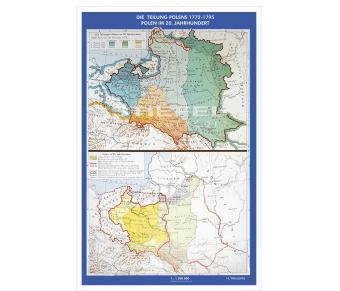 Putzger - Teilung Polens 1772 bis 1795
