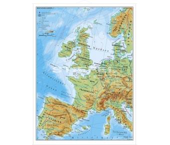 Westliches Europa physisch