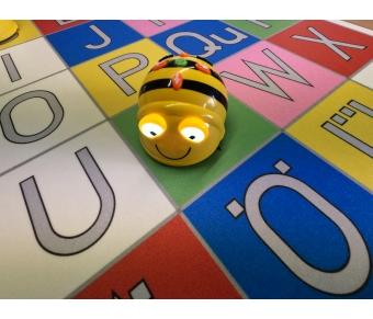 Bee Bot-Matte Buchstabenspiel
