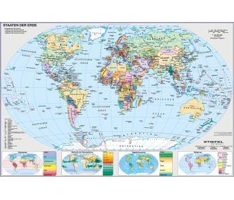 DUO Schreibunterlage Deutschland und Europa in der Welt