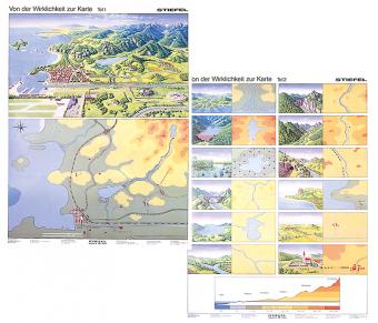 DUO Handkarte Von der Wirklichkeit zur Karte Teil I und II SET - 25 Stück