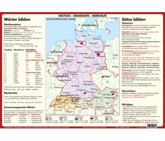 Deutsch - Grammatik - Merkhilfe Set