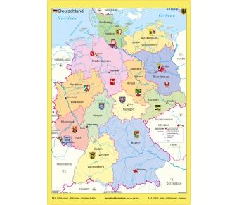 """Bodenmatte """"Deutschland Bundesländer"""""""