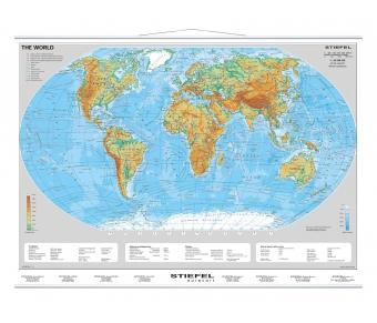 Die Erde physisch (Englisch)