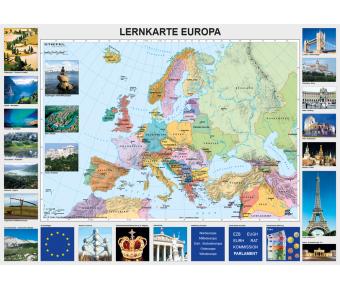 DUO Schreibunterlage LK Europa / Europa und der Nahe Osten physisch