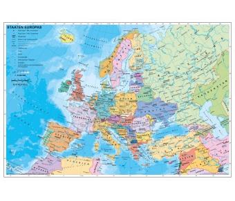 Staaten Europas politisch auf Forexplatte