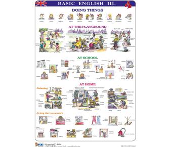 FIXI Lernkarte Basic English 3