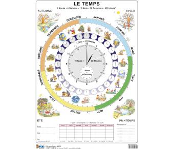 FIXI Lernkarte Le Temps