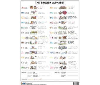 FIXI Lernkarte The English Alphabet