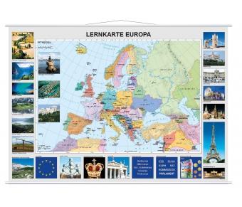 Lernkarte Europa