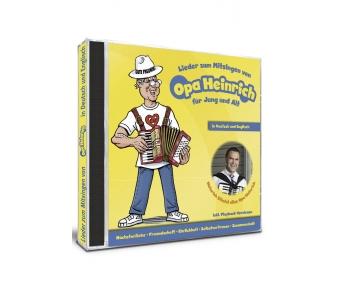 Lieder zum Mitsingen von Opa Heinrich für Jung und Alt