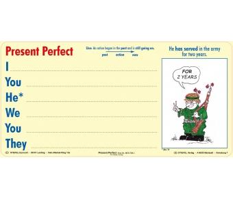 Magnetstreifen Present Perfect
