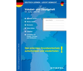 Deutsch Vokabel- und Übungsheft für Jung und Alt