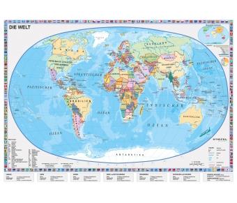 Lernmatte XL-Die Welt-Länder der Erde