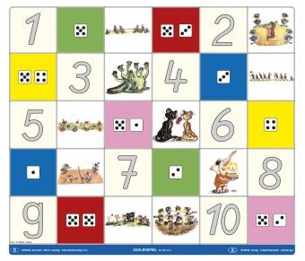 Bee Bot-Matte Zahlenspiel 1-10