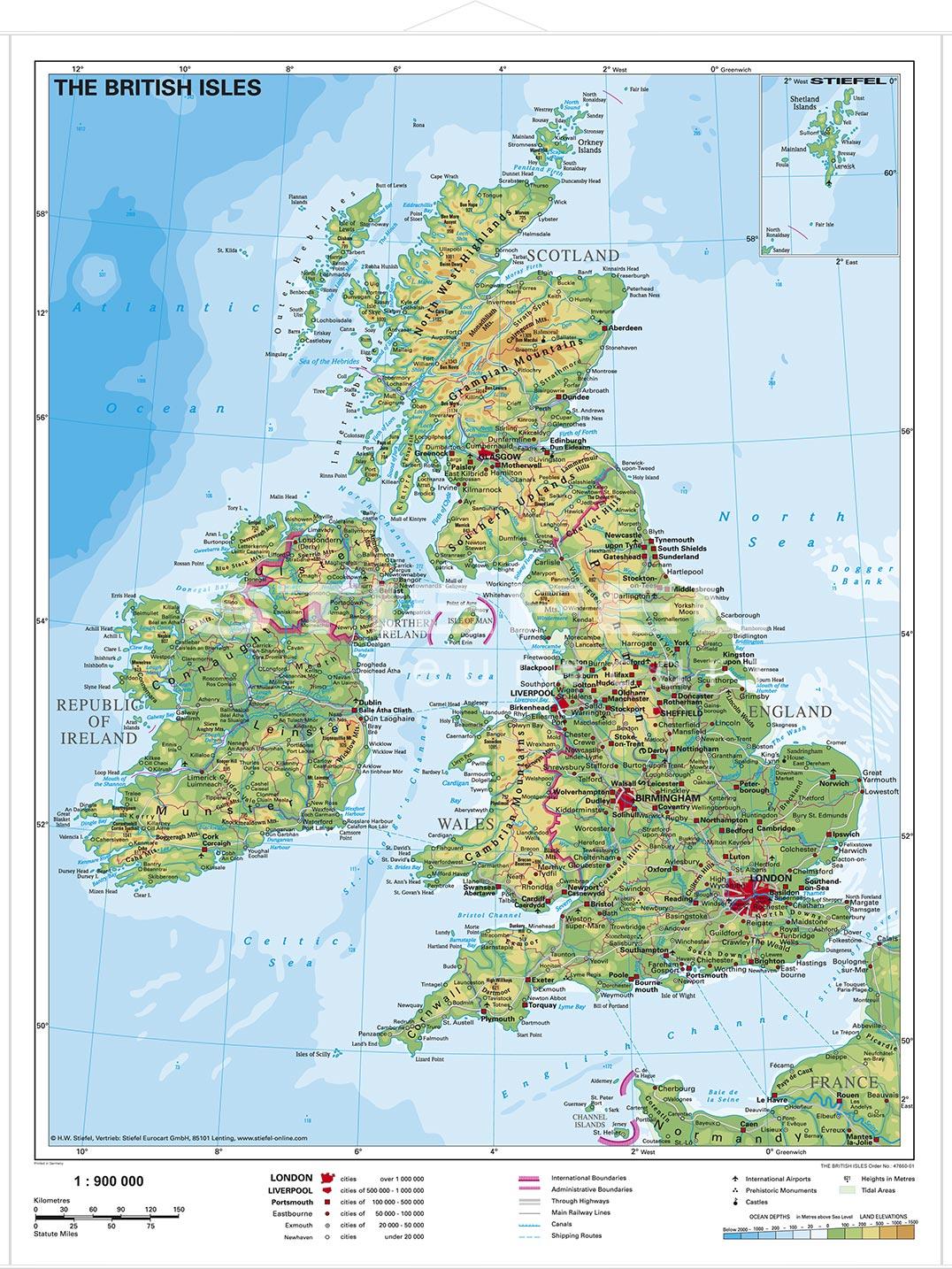 britische inseln karte Die Britische Insel – Athletbook britische inseln karte