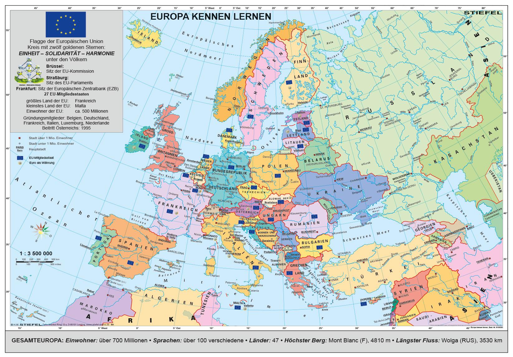 europa länder kennenlernen