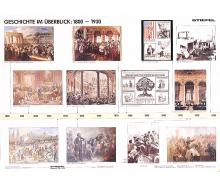 Handkarte Geschichte 1800-1930 Set