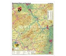 Rheinland-Pfalz und Saarland physisch