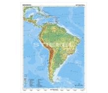 Südamerika physisch