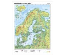 Skandinavien und Baltische Länder physisch