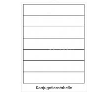 DUO Das Verb / Lernkarte