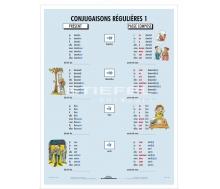 DUO Conjugaisons Régulières / Lernkarte