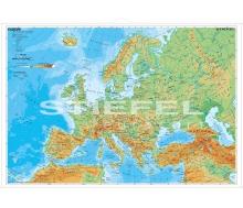 Europa physisch (Englisch)