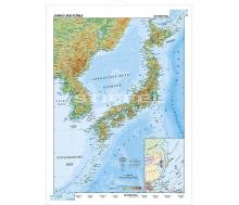 Japan und Korea physisch