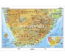 Südafrika physisch (englisch)