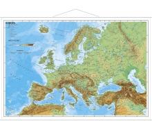 Europa physisch - Poster