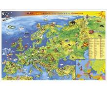 Kindereuropakarte - Poster