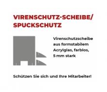 Spuck-Hygiene-Schutz