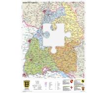 Baden Württemberg XXL-Puzzle magnetisch