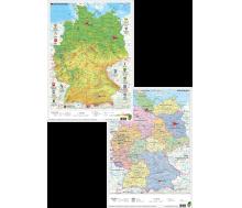 Dinocard Deutschland physisch / politisch