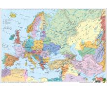 DUO Schreibunterlage Europa und der Nahe Osten physisch / politisch