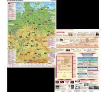 DUO Handkarte DE im Überblick / Geschichte und Gegenwart Set