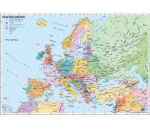 DUO Schreibunterlage Europa physisch / politisch