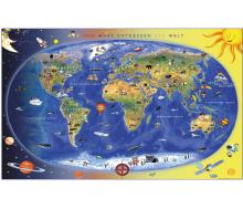 DUO Schreibunterlage Kinderweltkarte / Staaten der Erde