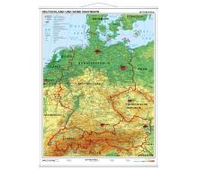 Deutschland und seine Nachbarn physisch