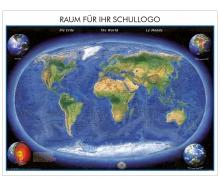 XXL-Brandschutz-Karte Die Erde Panorama