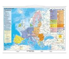 Handkarte Die Europäische Union politisch - 25 Stück